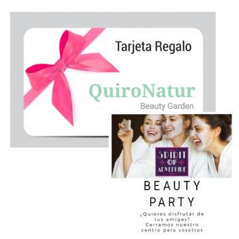 TARJETA REGALO BEAUTY PARTY