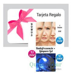 RADIOFRECUENCIA MAS LAMPARA LED fototerapia y diatermia